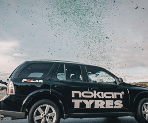Nokian Tyres: Un nou record mondial, posibil cu ajutorul anvelopelor de iarnă Nokian Hakkapeliitta R3 SUV
