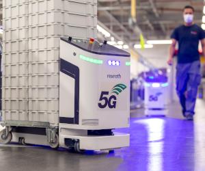 Bosch pune în funcțiune prima rețea campus 5G. Rețeaua 5G va fi implementată în fabricile Bosch din întreaga lume