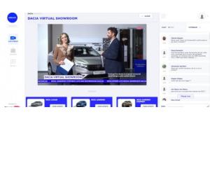 Un showroom virtual pentru a descoperi noua generație de modele Dacia