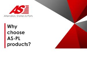 De ce să alegeți produsele AS-PL