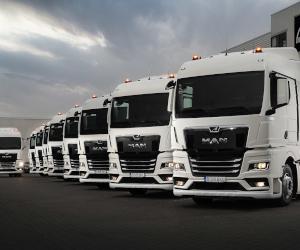 MHS Truck & Bus Group livrează 20 de unități MAN TGX ale noii generații de camioane MAN către Int. Transporte Popovici