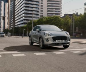 Modelul Ford Puma echipat cu motorul de 1.0 l EcoBoost Hybrid este acum disponibil in varianta cu transmisie automată în 7 trepte