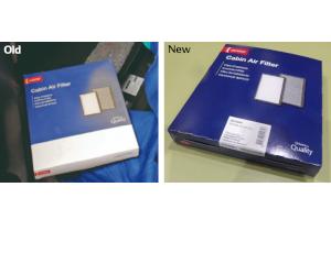Schimbare de design pentru cutiile Filtrelor de Habitaclu DENSO Aftermarket