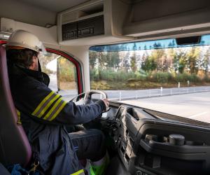Lansarea noilor Volvo FM și FMX cu cabină de echipaj pentru vehicule de intervenții