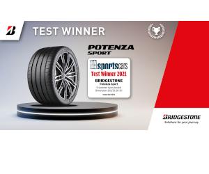 """Noua anvelopă sportivă de top"""" Bridgestone Potenza Sport a fost numită câștigătoarea testului Autobild pentru anvelope sportive 2021"""