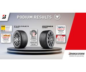 Bridgestone a fost numit Producătorul anului pentru anvelope de vară și ocupă podiumul în testele europene