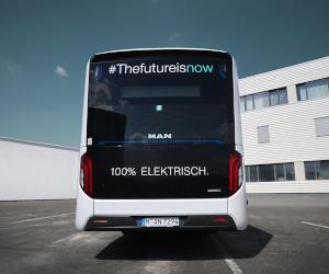 MAN Lion's City E, modelul de autobuz electric din ce în ce mai popular în orașele din Europa, ajunge în România pentru a fi testat