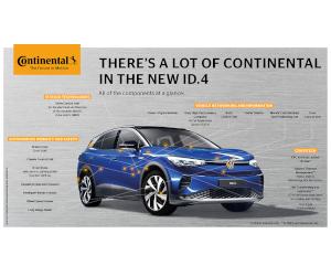 Volkswagen ID.4 – mobilitate sustenabilă cu tehnologie de la Continental