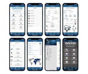 Dayco îmbunătățește informațiile cu aplicația de catalog mobil cu versiunea 7.0