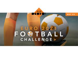 Participă la concursul NRF EURO2020/2021. Provocarea jongleriei cu mingea de fotbal