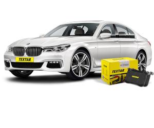 Plăcuțele de frână pentru noul BMW 7