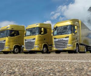 Primele 1000 de camioane DAF New Generation vândute
