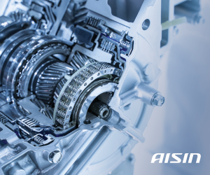AISIN dezvăluie mai multe produse pentru mașini europene, lansează serviciul de reparație pentru transmisii automate, noi senzori electronici de nivel și multe altele